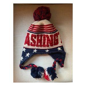 🇺🇸Sporty and Patriotic Washington Winter Cap🇺🇸